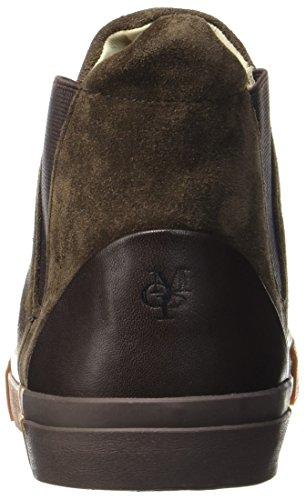 Marc 70723785001301 Brown Heel O'Polo Dark Flat Sneaker Herren Chelsea Braun Hohe XrpXqOw7