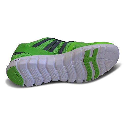 Reebok Herren Laufschuhe Sportschuhe Sublite XT Cushion V72393 Green/Alloy/White / Grün/Grau/Weiß