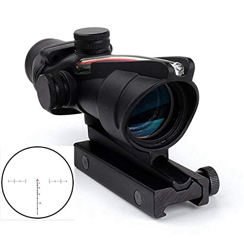 wipboten ACOG Rifle Scope 4x32 True Fiber Chevron Riflescope Optical Sights