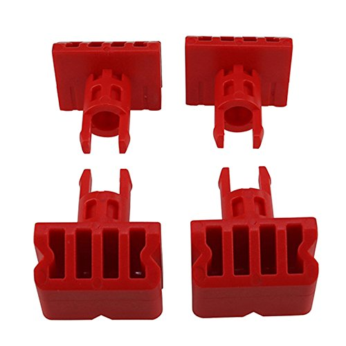 First4Spares 4 x Sturdy Vice Grip Clamp Swivel Pegs For Black & Decker Workmate WM ()