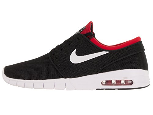 Max Skateboarding De university white Negro Zapatillas negro Janoski Stefan Para Nike Red Hombre black qXgwEa7c