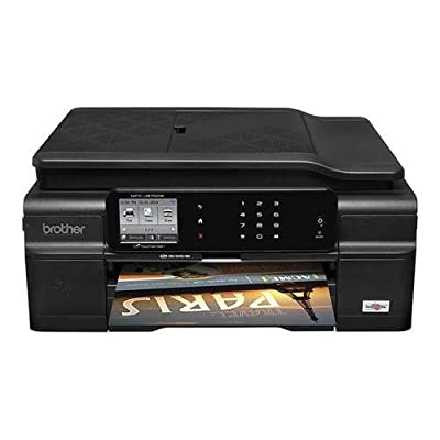 Brother Printer Work Smart MFCJ875DW Wireless Color Inkjet All-In-One Printer with Scanner, Copier and Fax
