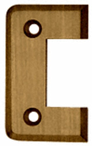 - C.R. LAURENCE P2ABR CRL Antique Brass Pinnacle Series Standard Cover Plate for the Door Side