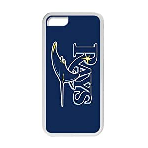 Diy iphone 5 5s case TYHde TAMPA BAY RAYS baseball mlb Phone case for iPhone 5 5S ending