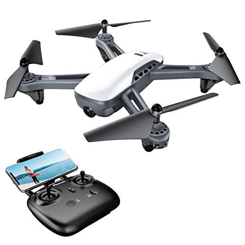 Potensic Drone with GPS and 1080P FHD Camera, 5G FPV Wifi Live Video Drone, GPS Smart Return Home, Follow Me, Altitude…