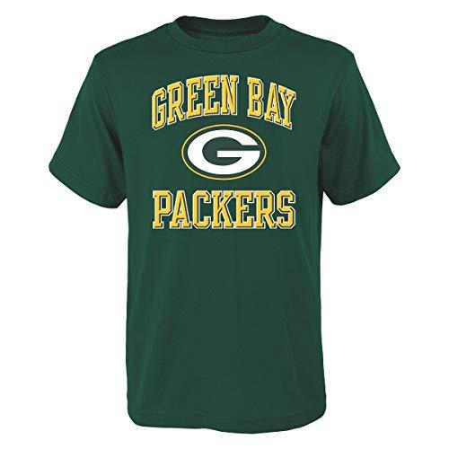 Ovation Print T-shirt (Green Bay Packers Youth NFL Ovation Short Sleeve T-Shirt)