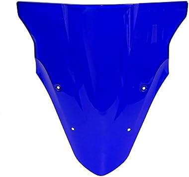 Blue waase Motorcycle Windscreen Windshield Shield Screen For Kawasaki ER-6F ER6F Ninja 650 EX650 2012 2013 2014 2015 2016