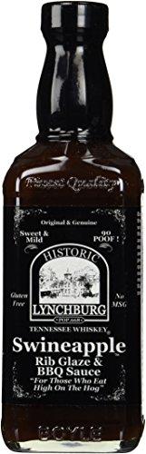Historic Lynchburg Tennessee Whiskey Swineapple Rib Glaze & Dippin' Sauce