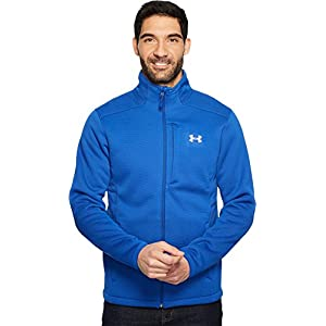 Under Armour Men's Storm Extreme ColdGear Jacket, Royal/White, Large