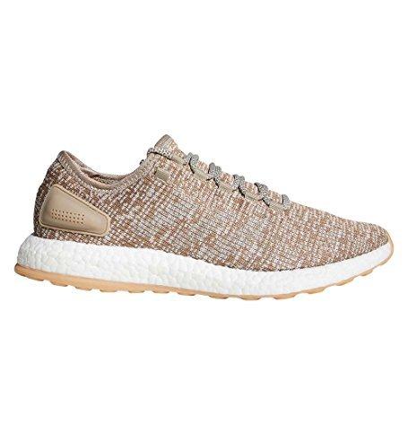 a238358cf0772 Galleon - Adidas Pureboost Shoe - Men s Running 12 Trace Khaki Clear Brown