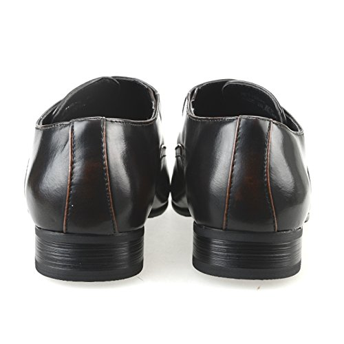 Mm / One Oxford Zapatos Para Hombre Zapatos Largos Con Cordones En Los Laterales Con Cordones Zapatos De Corte Bajo Negro Marrón Marrón Oscuro Marrón Oscuro