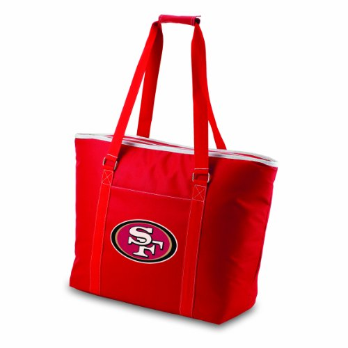 NFL San Francisco 49ers Tahoe Extra Large Insulated Cooler Tote