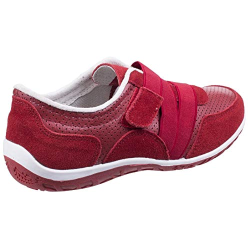 Bellini Fastening Comfort Touch Red Fleet Foster ladies Trainers Womens amp; wCfIW0qv