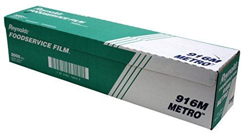 reynolds wrap 916m metro lightduty pvc film roll wcutter box 24