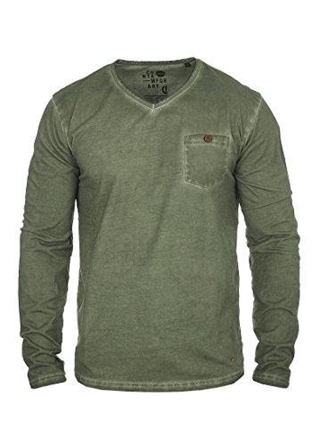 para Terkel de larga hombre Camiseta manga Ivy 3785 Climb Solid XAdwSX