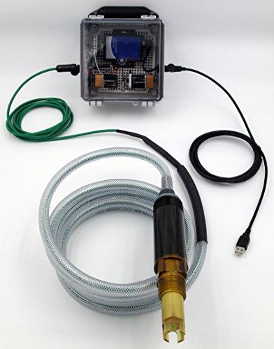 ement System using 3TX-HiQ Windows Software & HiQ to Windows NEMA 4X Bridge Box; Extremely Rugged Smart Digital ZEUS pH Sensor for Inline, Immersion & Submersible Use (Kynar Pvdf Connectors)