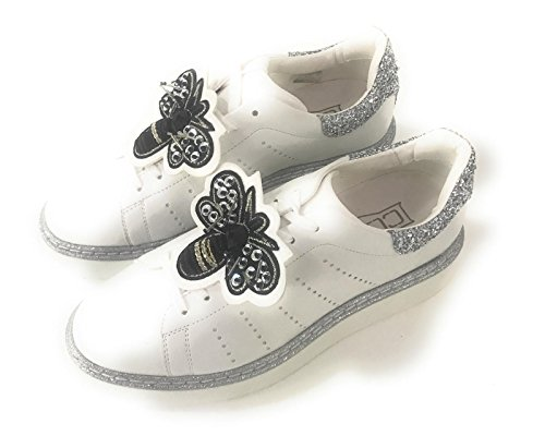 40 Donna Cult eagles Sneakers Bianco Cle103668 Xa881qw