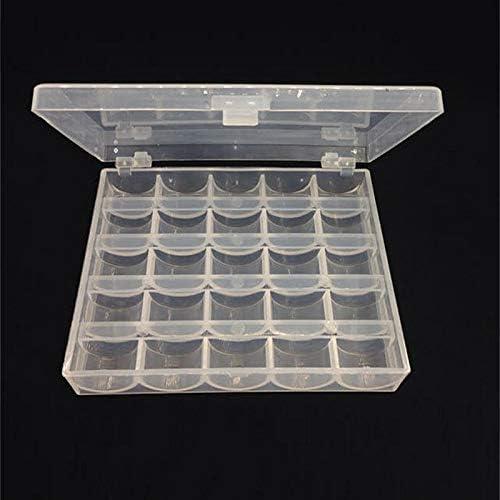 sans canettes SovelyBoFan Bo/îte de rangement pour 25 bobines 806 pour machine /à coudre