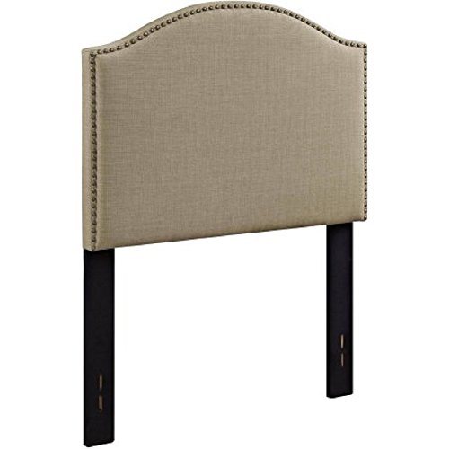Better Homes and Gardens Upholstered Headboard in Multiple Colors and Sizes (Oatmeal Twin)
