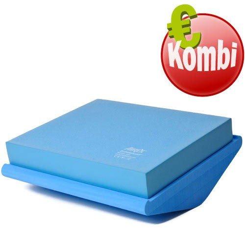 Airex Balance Pad Coussin de gymnastique/ de physiothérapie/ de rééducation- Bleu
