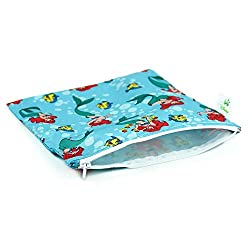Bumkins Reusable Snack Bag Large, Confetti