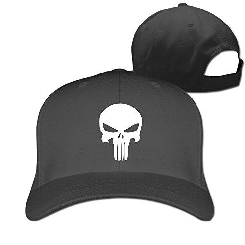 1b5dd2fff9e Unisex Comics The Punisher Classic Skull Logo Plain Baseball - Import It All