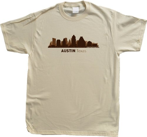 Austin, TX City Skyline Unisex T-shirt Texas Hometown Pride Tee