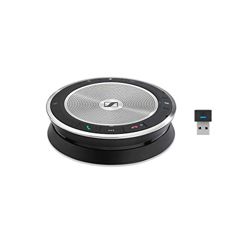 Sennheiser SP 30+ (508346) Sound-Enhanced, Wired or Wireless Speakerphone | Desk, Mobile Phone & Softphone or PC Connection | Unified Communications Optimized
