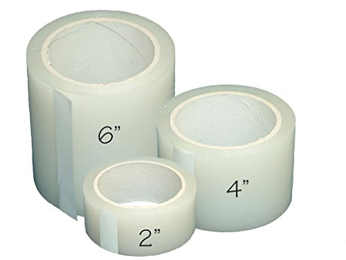 Weathering Solution (Greenhouse Plastic Poly Permanent Repair Tape UV Clear - Extra Strong (4