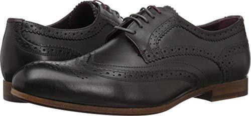 Ted Baker Men's CAMYLI Oxford, Black Leather, 12 M US