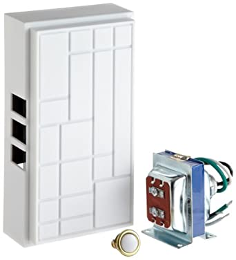 """Morris Products 78030 Builders Chime Kit With 5/8"""" Diameter Pushbutton, Kit with 1 Lit 5/8"""" Dia. Pushbutton"""
