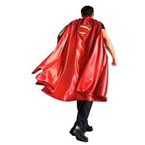 Rubie's Men's Batman V Superman: Dawn of Justice Deluxe Adult Superman Cape at Gotham City Store