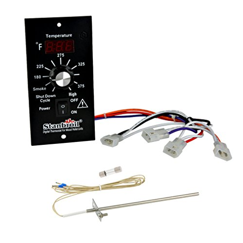 Stanbroil Digital Thermostat Kit for Traeger Pellet -