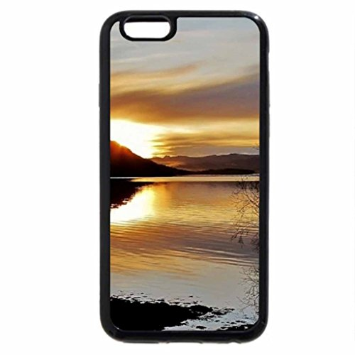iPhone 6S Case, iPhone 6 Case (Black & White) - A Beautiful Autumn Evening