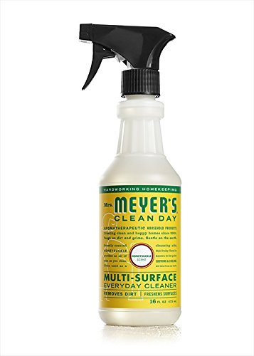 Mrs. Meyer's Clean Day Multi-Surface Everyday Cleaner, Honeysuckle, 16 Fluid Ounce
