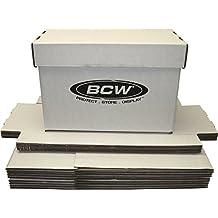 (10) BCW Brand SHORT Comic Storage Box - Holds 150 - 175 Comic Books - CXBCSHORT by BCW Diversified