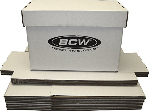 BCW Brand SHORT Comic Storage