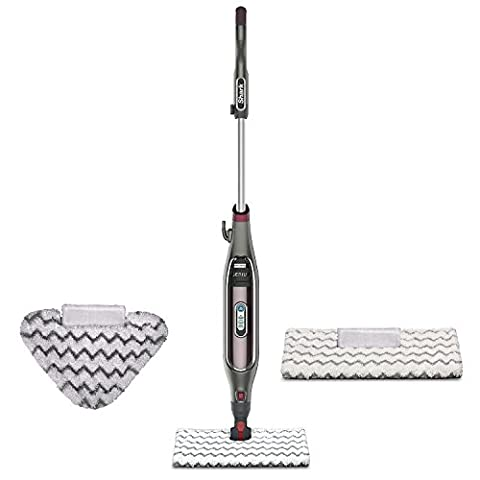 Shark Genius Steam Pocket Mop System. with Shark Intelligent Steam Control, Shark's Steam Blaster technology, Touch-Free Technology, Bonus Triangle Scrubber Head and (Left Behind On Blu Ray)