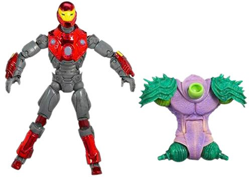 Marvel Legends Annihilus Series Build-A-Figure Collection: Ultimate Iron Man]()