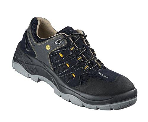 Stabilus 3112A/39 Chaussures de sécurité BIOair S1, Noir/Jaune, Taille 39