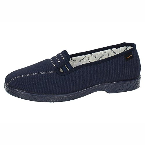 ZAPATOP Damen Sneakers Blau
