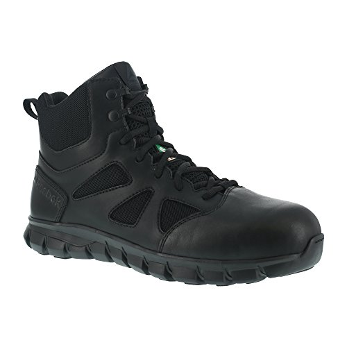 Reebok Work Men's Sublite Cushion IB6800 Military and Tactical Boot, Black, 11 W US