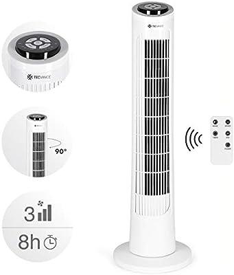 Tecvance LP-0432A Ventilador de Torre con Mando a Distancia-Extra ...