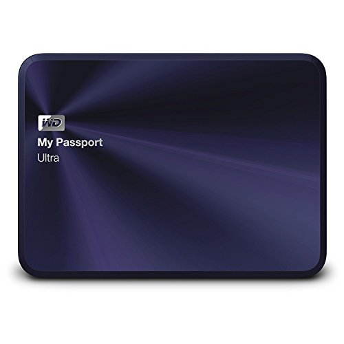 Western Digital My Passport Ultra 2TB (Blue) - 6