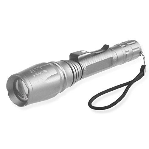 VESNIBA X800 XML T6 LED Zoom Tactical Military Flashlight Super