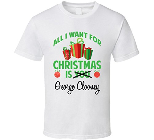 All-I-Want-for-Christmas-is-You-George-Clooney-Funny-Xmas-Gift-T-Shirt