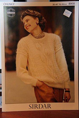 Sirdar Womens Cardigan Knitting Pattern 8958