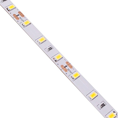 BIHRTC 12V DC Non-Waterproof LED Strip Light SMD 5630 32.8ft(10M) 5M/Roll 600 LEDs 300LEDS/Roll Flexible Rope Light (No Power Supply), Warm White by BIHRTC (Image #6)