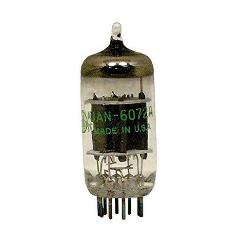 TELEFUNKEN Elektroakustik GE JAN 6072A   Dual Triode Vacuum Tube Graded for Guitar Amplifiers