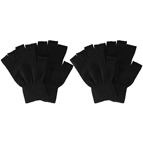Simplicity Fingerless Knitted Winter Gloves
